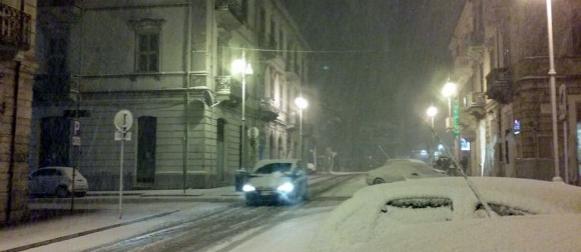 """""""Adriatic effect snow"""": Snijeg zabijelio zapadnu obalu Jadrana"""