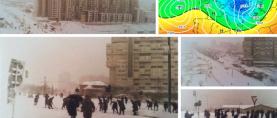 Ovako je izgledao snijegom zatrpani Split u siječnju 1979. godine