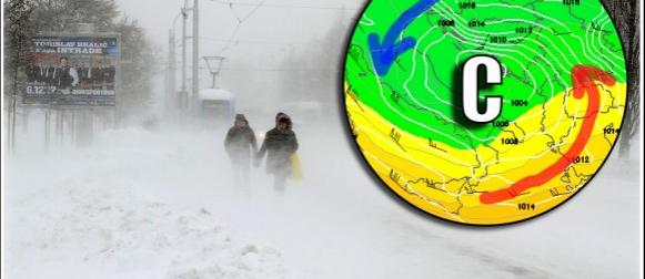 """Danas završava 35 dana dug ciklonalni """"post"""": U unutrašnjosti snijeg, na Jadranu i kiša i snijeg"""