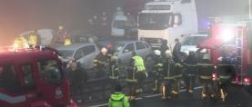 Gusta magla u Sloveniji kumovala velikoj prometnoj nesreći