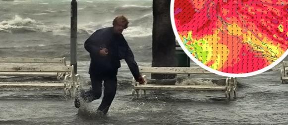 """""""Problematična"""" ciklona: Posvuda stižu olujni vjetrovi, izgledno obaranje temperaturnih rekorda"""