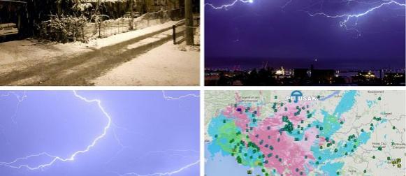 Snijeg i pad temperature na zapadu zemlje, zimski uvjeti na cestama Gorskog kotara (FOTO)