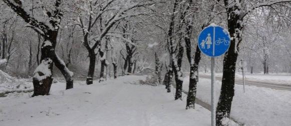 Obilne oborine ciklone Goran: Snijeg  zatrpao  Moslavinu