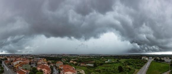 Promjenjiva subota: Obilna kiša na istoku i jugu Istre i Korčuli