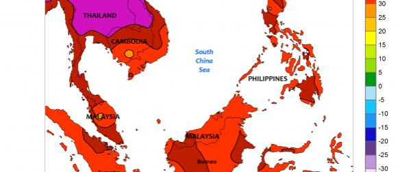 Ekstremna vrućina zahvatila jugoistok Azije i dijelove Afrike