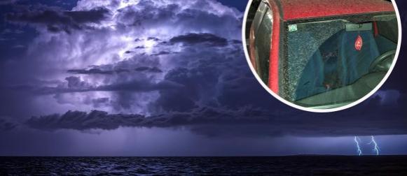 Ciklona Nika: U Dalmaciji saharski pijesak, u četvrtak mjestimično nevrijeme