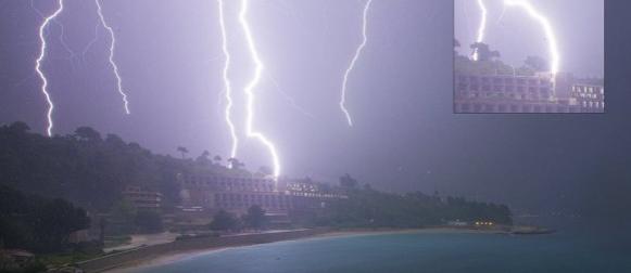 U Dubrovniku u noći od 9. na 10. lipnja  palo više kiše od mjesečnog prosjeka