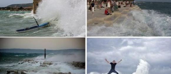 Olujno lipanjsko  jugo (FOTO, VIDEO)