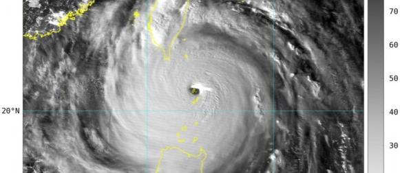 Otok u oku tajfuna