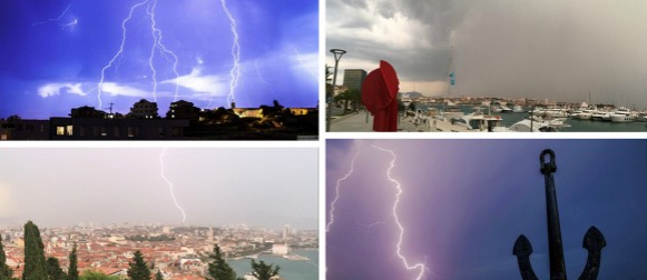 "Rijeka i Senj dosegnuli 32 stupnja, bogat ""ulov"" Crometeo chasera (FOTO)"