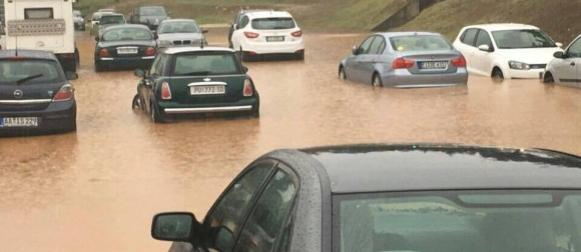 Obilna kiša na sjeveru Jadrana
