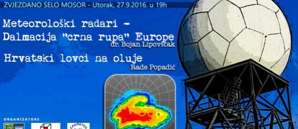 """Dalmacija """"crna rupa"""" Europe: Sljedeći utorak besplatno meteorološko predavanje na mosorskoj zvjezdarnici"""