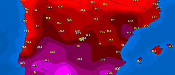 Rekordna rujanska toplina u Europi i na Bliskom Istoku: U Španjolskoj izmjereno 46.4°C