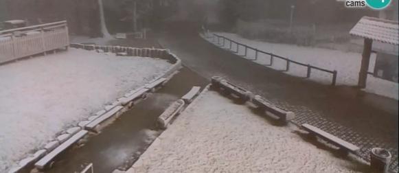 Fronta donijela lokalno obilniju kišu i malo snijega u najvišem gorju