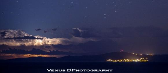 Iz Splita snimila više od 200 kilometara udaljenu grmljavinsku oluju nad Italijom