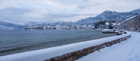 Snijeg zabijelio  i Dubrovnik