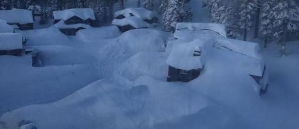 Sierra Nevada (SAD):  Rekordna mjesečna količina snijega