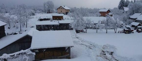 Ciklona Karlo donijela snijeg i prekinula dugotrajnu sušu