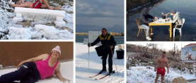 Samo u Dalmaciji: Kako su snijeg i led odrasle ponovno učinili (sretnom) djecom!