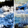(Prava) Zima u Dalmaciji: Pogledajte zaleđene obale Vranskog jezera