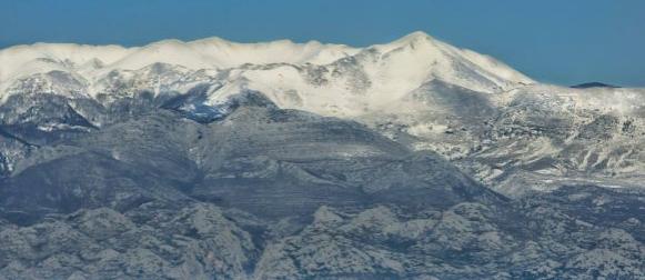 Još jedna brza fronta:  Obilna kiša na jugu Jadrana, snijeg u gorju