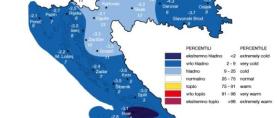 DHMZ: Klimatska ocjena siječnja