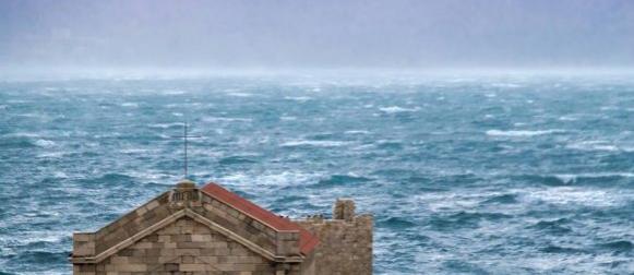 Ciklona nad Jadranom: Na mostu Krk udar bure od 166 km/h
