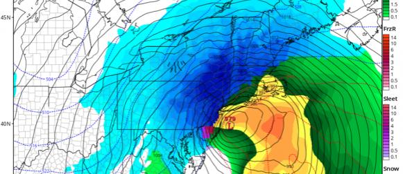 """""""Meteorološka bomba"""" Stella: Najjača zimska oluja sezone pogodila sjeveroistok SAD-a"""