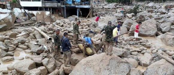 Kolumbija: u bujici poginule 254 osobe
