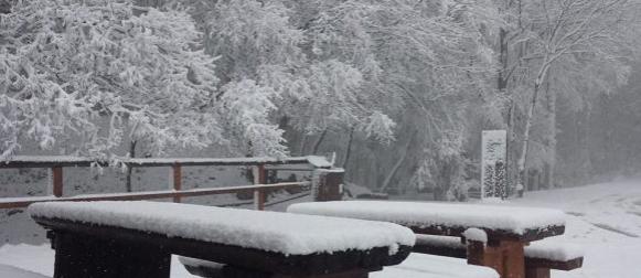 Snježna idila na Učki