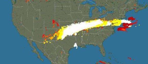 Divlje vrijeme u SAD-u:  Mećave, tornada, poplave, rekordna toplina