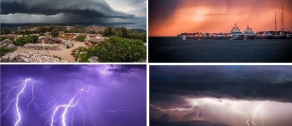 Ciklona Carmen: Obilna kiša na istoku Hrvatske (FOTO)
