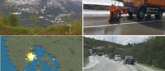 Ekstremna tuča na istoku Istre (FOTO, VIDEO)