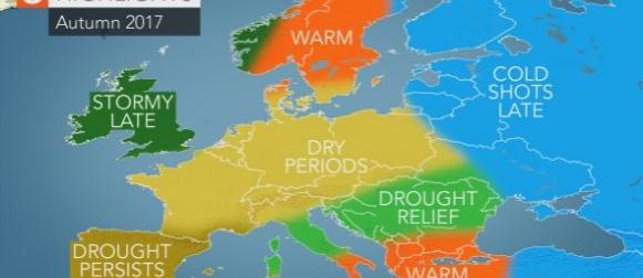 Accuweather objavio sezonsku prognozu za jesen u Europi