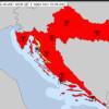 Novi apsolutni temperaturni rekordi: Split aerodrom 42.3°C, Zadar Zemunik, Pazin, Parg..