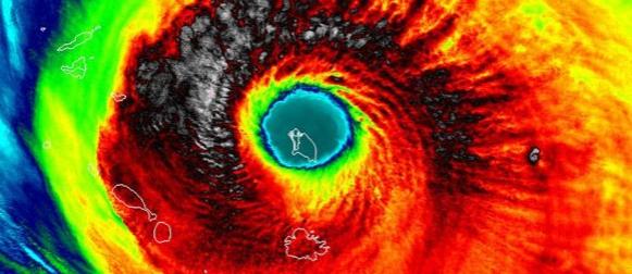 Uragan Irma napada i meteorološke rekorde