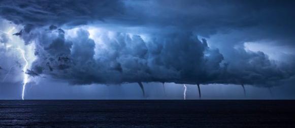 Ciklona donijela obilnu kišu: Pag 164 mm,  Gospić i Plitvice  127, Rab 126