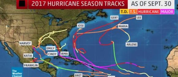 Nakon rekordno aktivnog rujna zatišje na Atlantiku