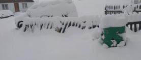 Snijeg na zapadu Srbije i sjeveru Crne Gore