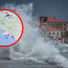 CIKLONA LUKA U DALMACIJI Udari juga preko 100km/h, višemetarski valovi i obilna kiša