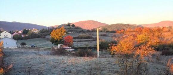 Jutarnji mraz na početku studenog