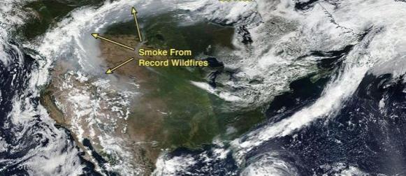 10 najznačajnijih meteoroloških/klimatskih događaja u svijetu 2017. godine