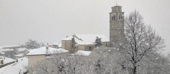 Ciklona Benjamin: Snijeg i u unutrašnjosti Istre