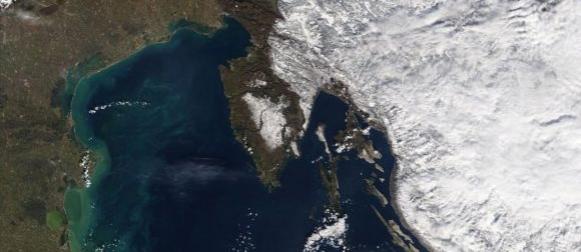 U Gorskom kotaru više od 1 metra snijega