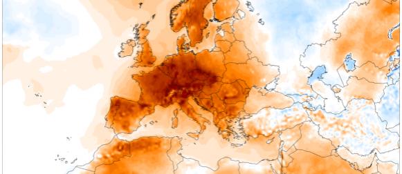 Travanjsko ljeto u Europi