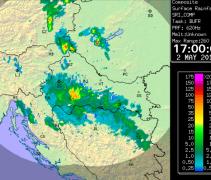 Oluja u Sisku donijela 42 litre kiše