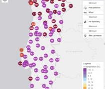 U Španjolskoj  i Portugalu temperature do 47°C; Europski temperaturni rekord nije srušen