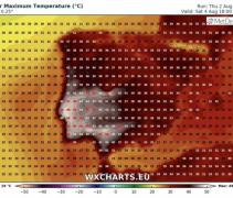 Hoće li pasti europski temperaturni rekord?