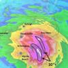 Super tajfun Mangkhut i uragan Florence