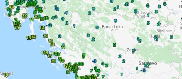 Zavižan, Daruvar, Nova Gradiška…Rekordno niske rujanske  temperature